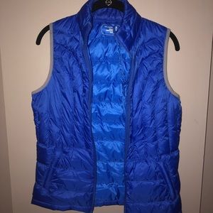 Be inspired- blue vest (packable)